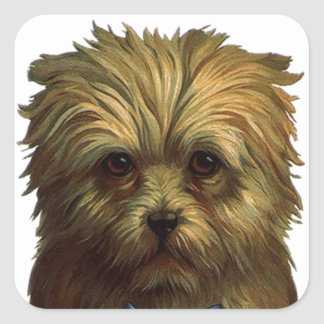 Sticker Vintage Yorkie Pet Yorkshire Terrier Dog