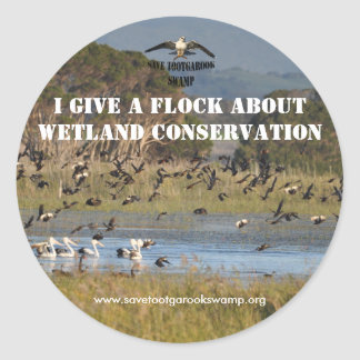Sticker Wetland Conservation
