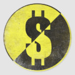 Sticker with Cool Anarcho-Capitalist Flag