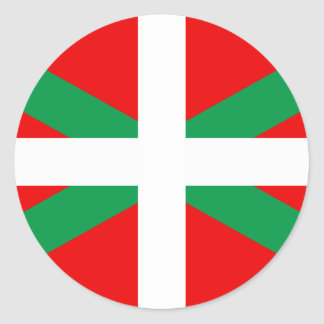 "Sticker with Flag Basque ""Ikkurina """