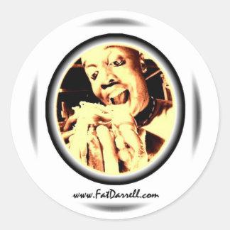 Stickers-Big Bite logo Round Sticker