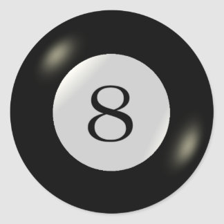 Stickers - Billiards - 8 Ball