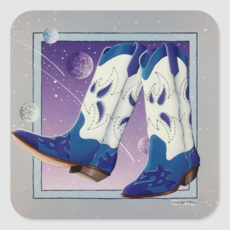 Stickers - Electric Slide Cowboy Boots