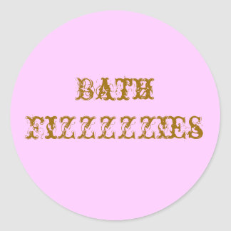 Stickers for Bath Fizzies