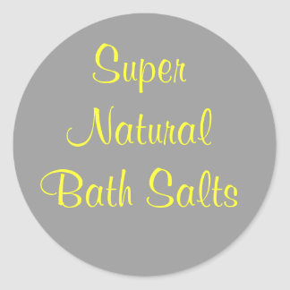 Stickers for Bath Salts