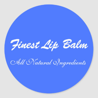 Stickers for Lip Balms