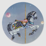 Stickers - Grey Mare Carousel Horse