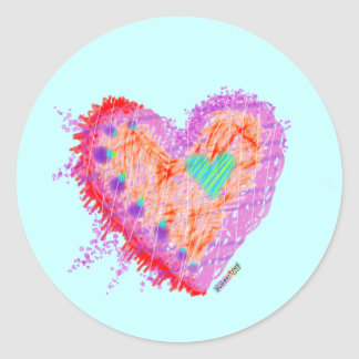 Stickers - Happy Heart