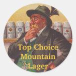 STICKERS Homebrew Alpine Edelweiss Hat  Choices