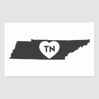 Stickers I Love Tennessee State