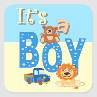 Stickers - It s A Boy Toys