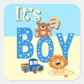 Stickers - It's A Boy Toys