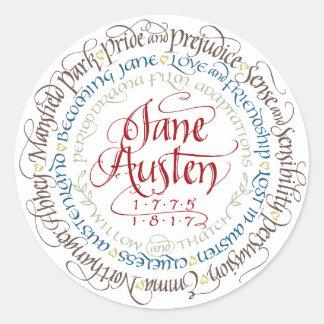 Stickers - Jane Austen Period Drama Adaptations