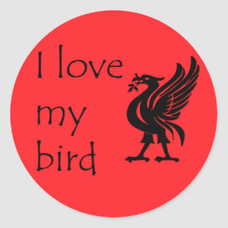 Stickers - Liverpool Liverbird