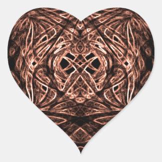 stickers maroon heart