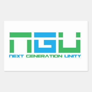 Stickers: Next Generation Unity (NGU) Rectangular Sticker