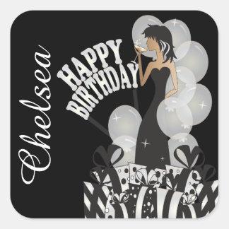 Stickers - Personalize Birthday
