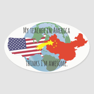 Stickers to Send to Students: USA, Awesome