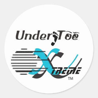 Stickers Under Toe Xtreme - Customized