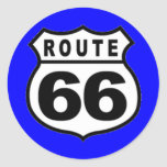 Stickers - VINTAGE ROUTE 66 AMERICANA