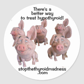 STICKERS with PIGS --better way to treat hypo!