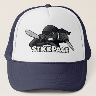 StickPage - Crazy Ninja Trucker Hat