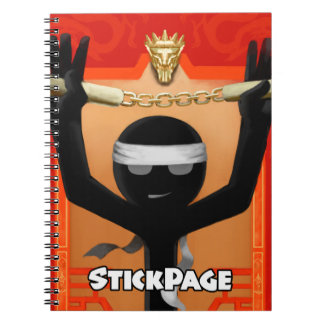 StickPage - Enter The Dragon Notebooks