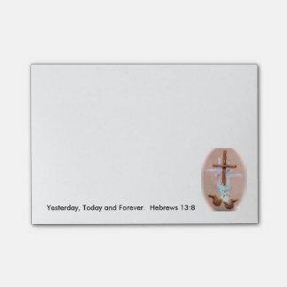 Sticky 50-Sheet Note Pad 4x3
