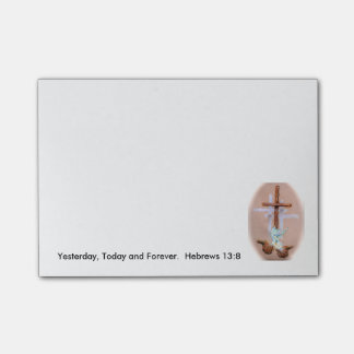 Sticky 50-Sheet Note Pad 4x3 Post-it® Notes