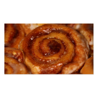 Sticky Buns Baked Goods Bakery Boutique 2 Business Card Template