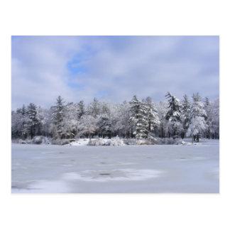 Sticky Snow 34 postcard