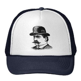Stiff Bowler Hat hat