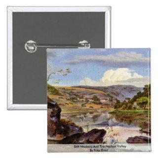 Stift Neuburg And The Neckar Valley By Fries Ernst Pins