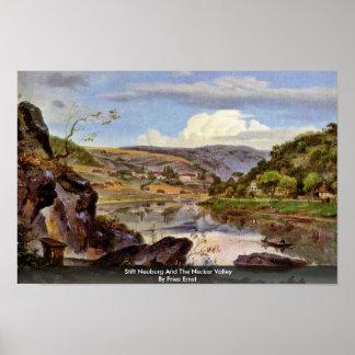 Stift Neuburg And The Neckar Valley By Fries Ernst Posters