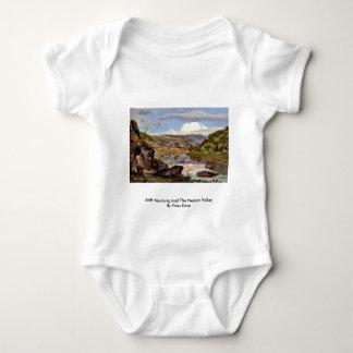 Stift Neuburg And The Neckar Valley By Fries Ernst T Shirts