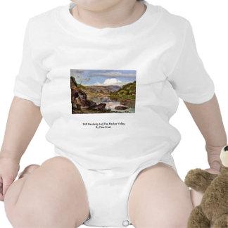 Stift Neuburg And The Neckar Valley By Fries Ernst Baby Bodysuit