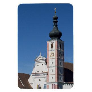Stiftskirche Geras Rectangular Magnet