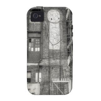 Stik Man Graffiti Shoreditch London iPhone 4/4S Cover