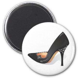 Stiletto 6 Cm Round Magnet