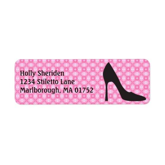Stiletto Address Label