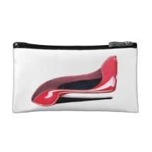 Stiletto Shoe Art Speck Cases Makeup Bag