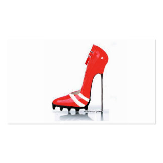 Stiletto Sports Business Cards