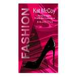 """Stiletto Style"" - Fashion Stylist, Designer Pack Of Standard Business Cards"