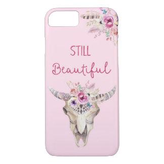 Still beautiful Antlers Flowers Boho Phonecase iPhone 7 Case