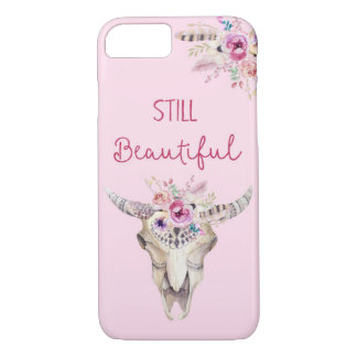 Still beautiful Antlers Flowers Boho Phonecase iPhone 8/7 Case