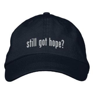 Still got hope? Hat