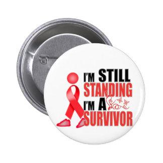 Still Heart Disease Survivor Pin