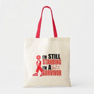 Still Heart Disease Survivor Canvas Bags
