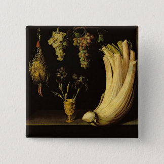 Still Life, 1628 15 Cm Square Badge