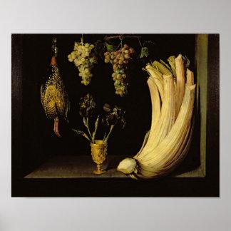 Still Life, 1628 Poster